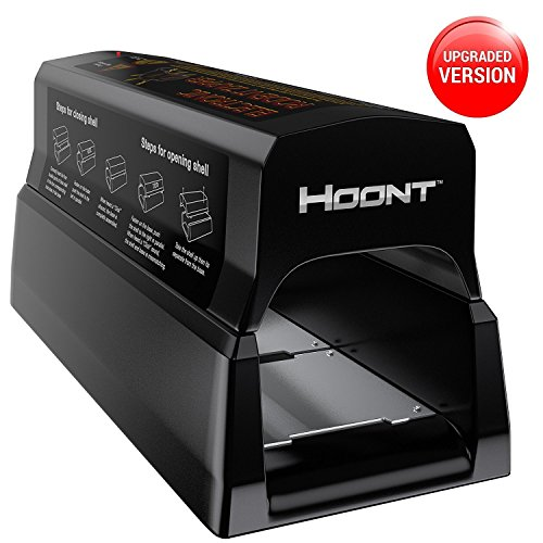 Hoont Powerful Electronic Rodent Trap, Humane and Clean Extermination of Rats, Mice and Squirrels, Upgraded Version (HNT-RTZ-01-NL)