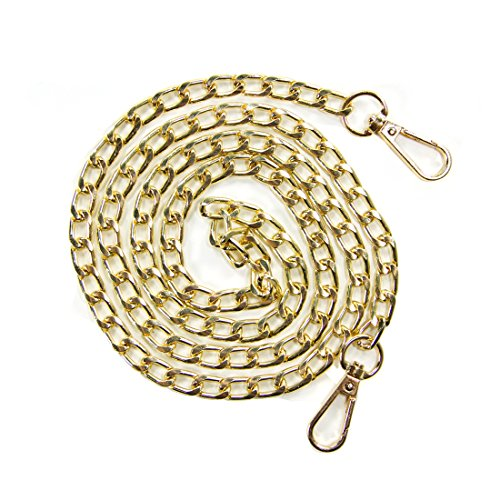 Curve Chain Purse Gold Gold Curvy Replacement Handbags Strap 46in Cross Body Chain Kroo Shoulder PgxBqvOwB5