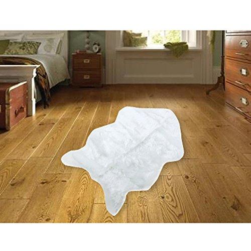 Amazon.com: Alfombra suave de piel de oveja para silla de ...
