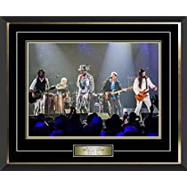 Frameworth The Tragically Hip Framed 16x20 Band Photo, Large, Bl