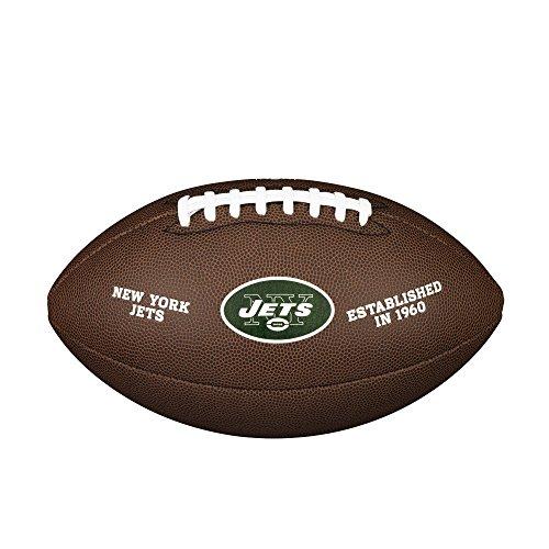 (NFL Team Logo Composite Football, Official - New York)