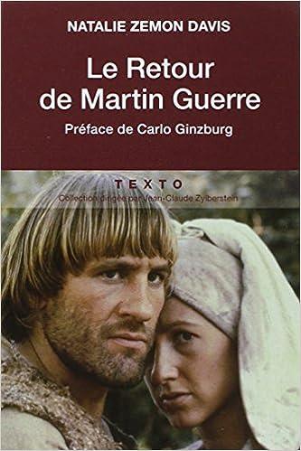 Livre gratuits en ligne Le Retour de Martin Guerre pdf, epub ebook