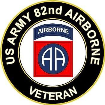 Amazon Com Vinyl Usa Us Army Veteran 82nd Airborne
