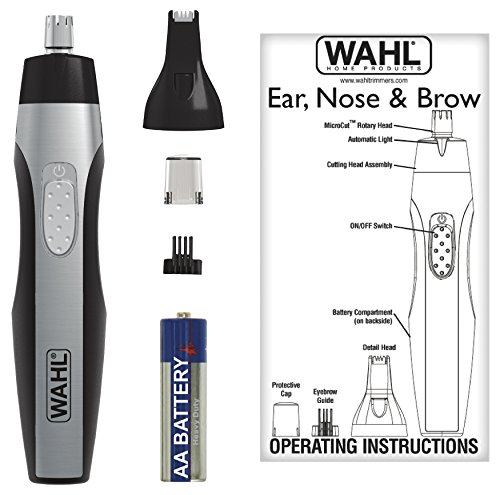 Wahl Ear, Nose and Brow Lighted Trimmer #5546-200 by Wahl (Image #2)