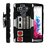MINITURTLE Case Compatible w/ LG V10 Black Case| G4 Pro Case[Clip Armor] Premium Defender Case Hard Shell Silicone Interior w/ Stand & Holster Game Controller Review