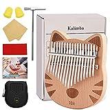 vbh Kalimba, 17 Keys Thumb Piano Builts-in EVA