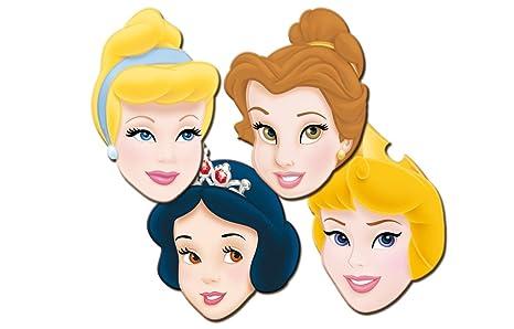 4d0f9c49faa Disney Princesas Pack 6 caretas cartón