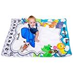 Baby-Monthly-Milestone-Blanket-for-Boy-Girl-Premium-Super-Soft-Thick-Fleece-Bonus-2-Frames-and-Ebook-Included-Extra-Large-60-x-40-Personalized-Photography-for-Mom-Newborn-Baby-Shower-Gifts