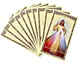 Divine Mercy of Jesus Holy Card with Divine Mercy
