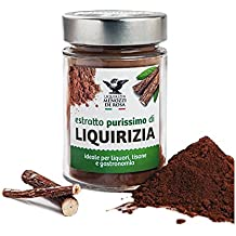 Menozzi De Rosa, 100% Pure Licorice Juice Powder In 120gr Glass Jar (Polvere Di Liquirizia Purissima) (1 pcs)