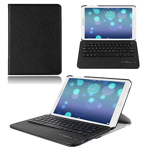 Samsung Galaxy Tab A 10.1 Keyboard Case, KVAGO 360 Degree...