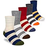 Bobo 5 Pack kids Boys Fashion Cotton and Soft Cute Breathable Socks size2-4years