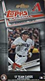 Arizona Diamondbacks 2017 Topps MLB Baseball Factory Sealed Special Edition 17 Card Team Set with Paul Goldschmidt plus