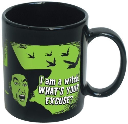 ICUP Wizard of Oz I'm a Witch What's Your Excuse Ceramic Mug (Flying Monkeys In Wizard Of Oz)