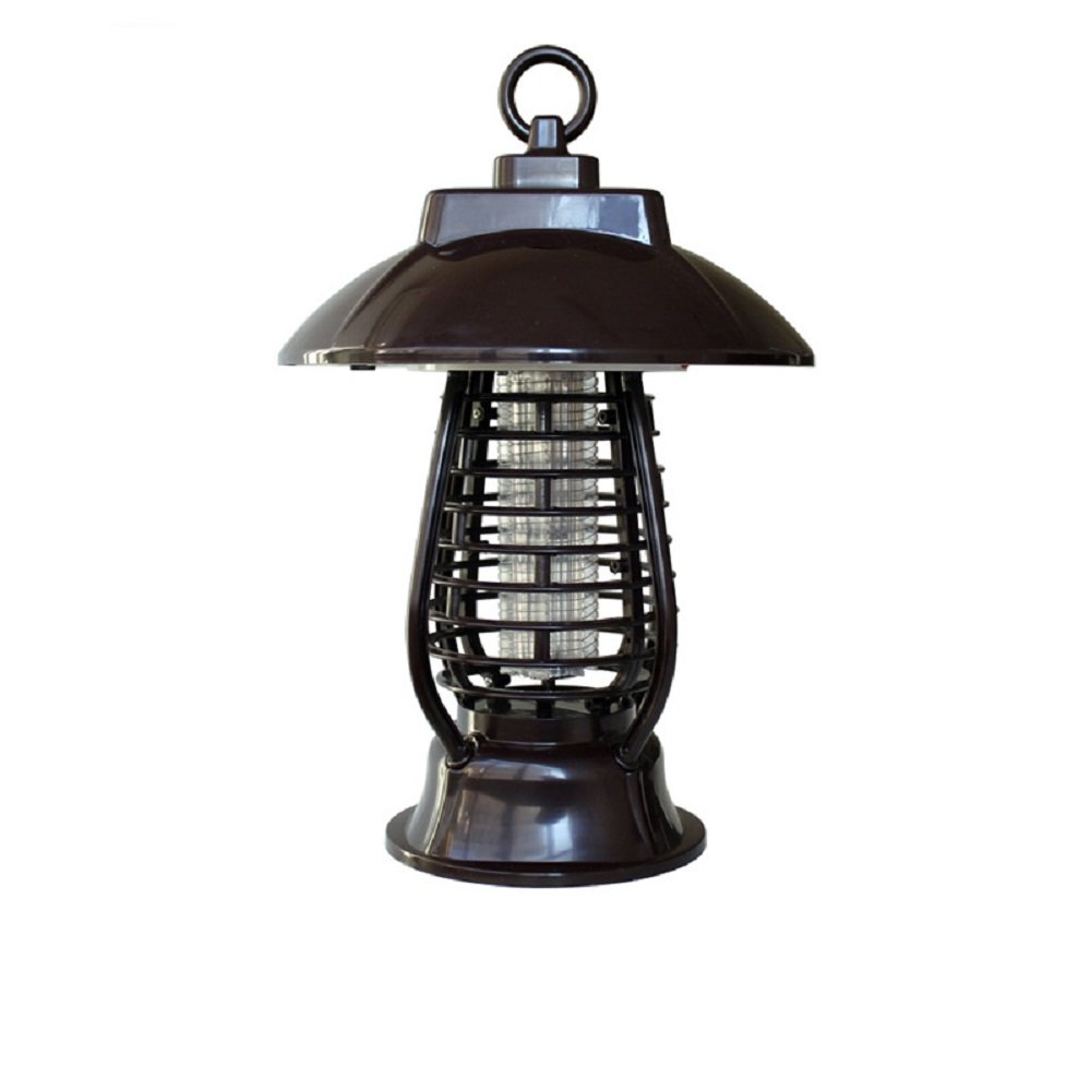 Solar Powered UV LED Bug Zapper Mosquito Insect Flying Biting Killer Lamp for Home, Garden, Camping