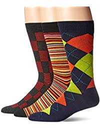Hanes mens Hanes Men's 3-pack Dress Casual Crew Flat Knit Socks