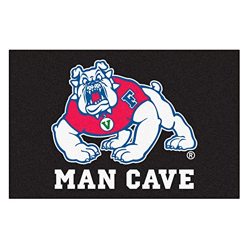 Fresno State University Bulldogs Man Cave Area Rug (All Star)