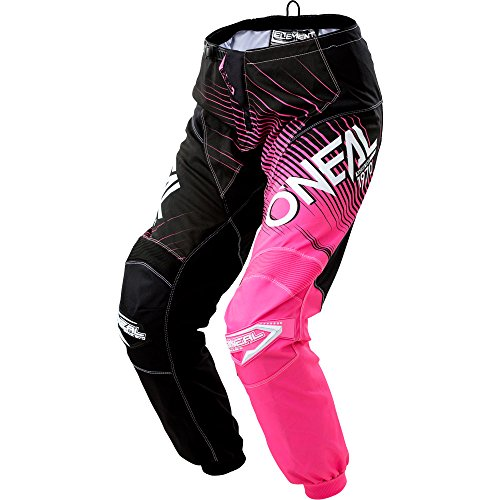 O'Neal Women's Element Racewear Pant (Black/Pink, Size - Element Oneal Womens
