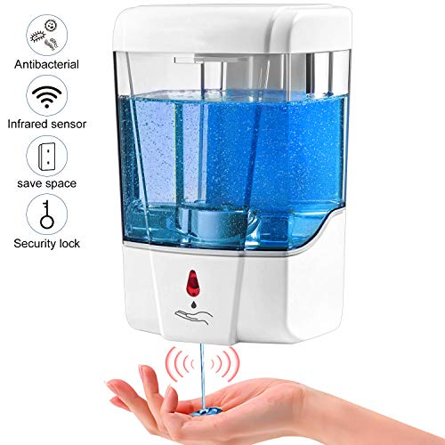 Plastic Automatic Soap Dispenser - 1