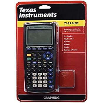 Amazon.com: Texas Instruments TI-83 Plus Graphing Calculator ...