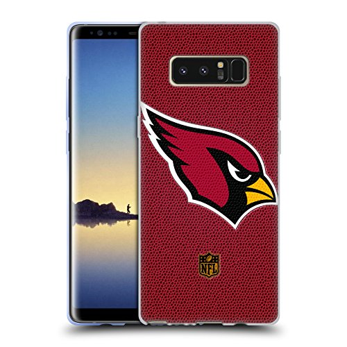 Official NFL Football Arizona Cardinals Logo Soft Gel Case for Samsung Galaxy Note8 / Note ()