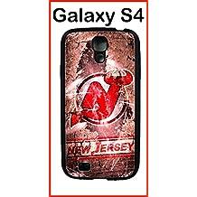 New Jersey Devils Samsung Galaxy S4 Case Hard Silicone Case