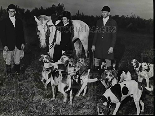 1952 Persuade Photo Allan Penny Oscar Tussell & Patti Throop of Columbia Hunt Club