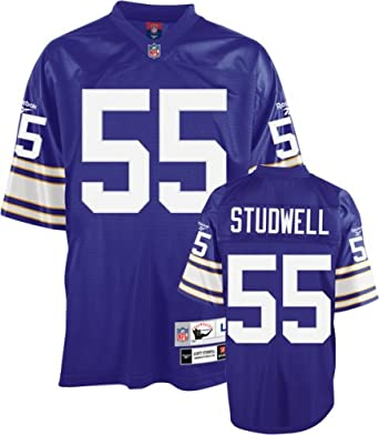 Jersey Jerseys Sports Amazon Scott Throwback Premier com Minnesota Purple Studwell 4xl Clothing Fan - Nfl Vikings