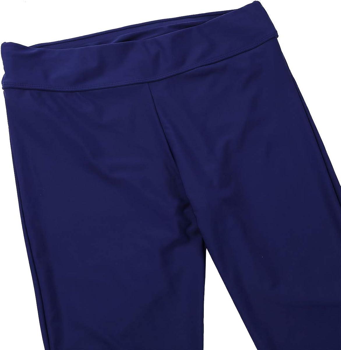 ranrann Short de Bain Femme Legging Sport Maillot de Bain Surf Piscine Plage Bermuda Slim Fit Bas de Maillot de Bain Taille Haute Collant Surf Natation Grande Taille S-XXXL