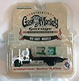 2013 International Durastar Flatbed Tow Truck With Gas Monkey Garage Tool Box and Engine Hoist HD Trucks Series 5 1/64 by Greenlight 33050 C by International