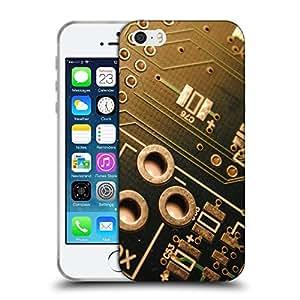 Super Galaxy Coque de Protection TPU Silicone Case pour // V00000798 PCB Circuito Digital // Apple iPhone 5 5S 5G SE