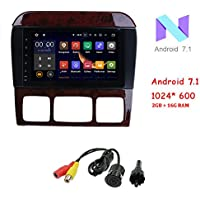 MCWAUTO for Mercedes-Benz S-Class W220 S280/S350/S400 8 Inch Android 7.1 Car Stereo Capacitive Touch Screen GPS with 1080P OBD2 CANbus Built-in DAB+ Tuner Tire Pressure Monitoring/ Rear Camera