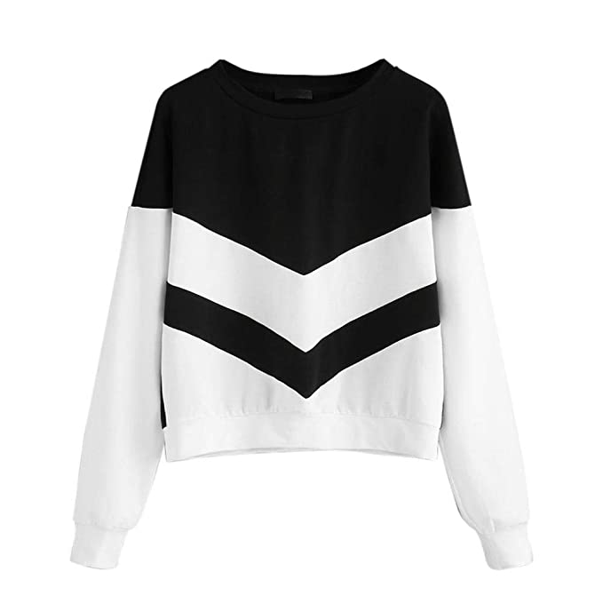MEIbax Mujer Chica Plus Size Sudadera Manga Larga Recortes de Gamuza SušŠter de Ante Camisetas para Personalizar Camisetas promocionales Camisas Hermosas: ...