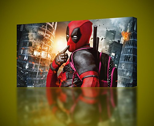 DEADPOOL Movie CANVAS PRINT Wall Art Decor Poster Giclee Mar
