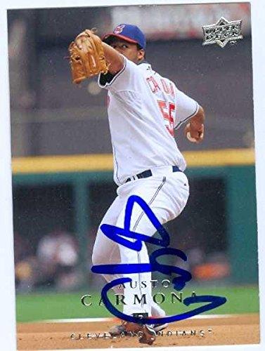 Fausto Carmona autographed Baseball Card (Cleveland India...