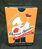 Flathaus Fine Foods 7711 4 oz. Cheddar Chipotle Cheese Straws - Pack of 12