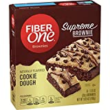 Fiber One Supreme Brownie Cookie Dough Brownies