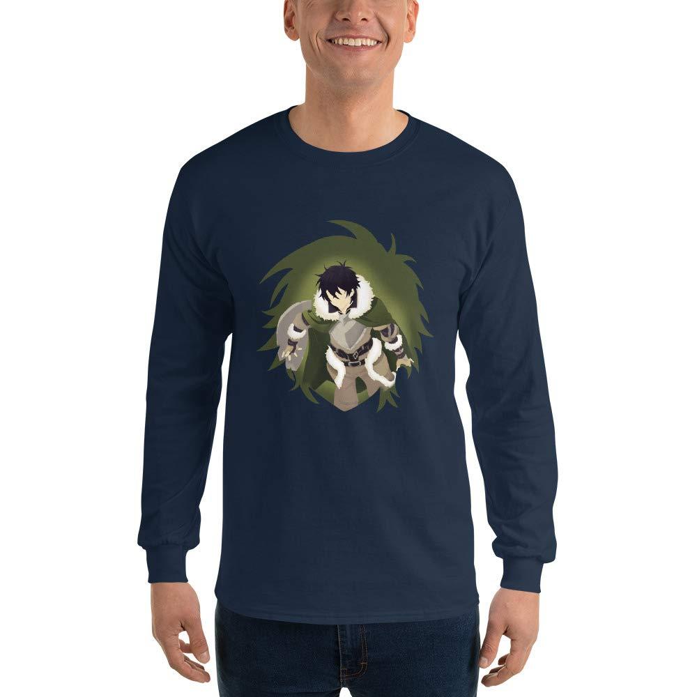 Cart Bloomy Naofumi The Rising of The Shield Hero Anime Manga Cosplay Minimalist Men Unisex Long Sleeve T-Shirt