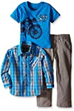 Lee Little Boys' Toddler Motorcycle Woven 3 Piece