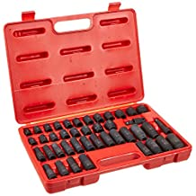 Advanced Tool Design Model ATD-4601 42 Piece 3/8-Inch Drive Standard and Deep SAE and Metric Impact Socket Set