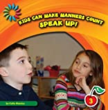 Speak Up!, Katie Marsico, 1610804341