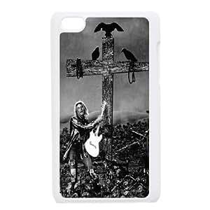 Clzpg New Design Ipod Touch 4 Case - Kurt Cobain diy plastic case