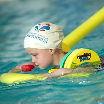 Tubos flotadores para piscina como apoyo para nadar, con estrella flotadora incluida, 0108, azul, 1500mm long x 66mm diameter: Amazon.es: Deportes y aire ...