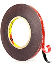 Double Sided Tape, 3M VHB Mounting Tape, 32 Feet x 0.4 Inch 3M Heavy Duty Waterproof Foam Tape, Strong Adhesive Two Side 3M Tape for Car, LED Lights, Home and Office Decor