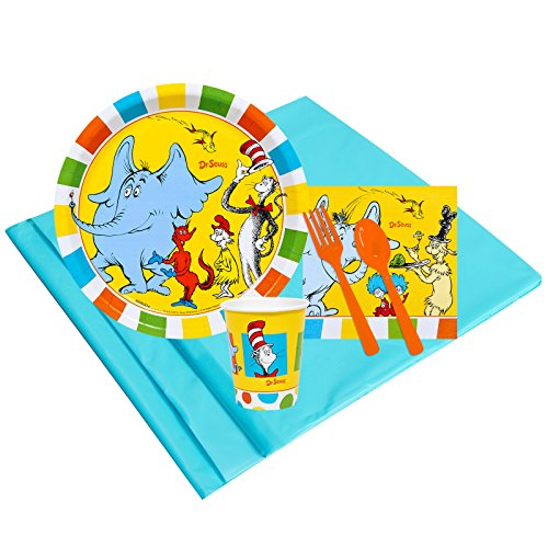 BirthdayExpress Dr Seuss Favorites Party Supplies - Party Pack for 8 Guests ()