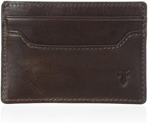 FRYE Men's Logan Antique Pull-Up Card Holder