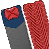 Klymit Static V2 Sleeping Pad, Sheet, and Pillow