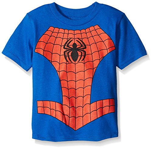 Spiderman Boy's Spider In Me, Royal, 3T (T Shirt Spiderman)