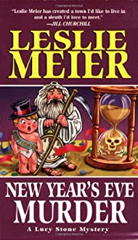 New Year's Eve Murder (Lucy Stone Mystery, Book 12) 075820700X Book Cover