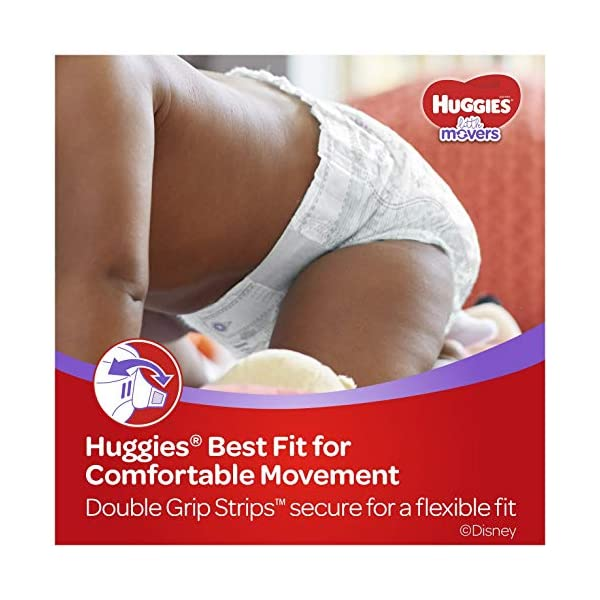Huggies Little Movers Baby Diapers 2